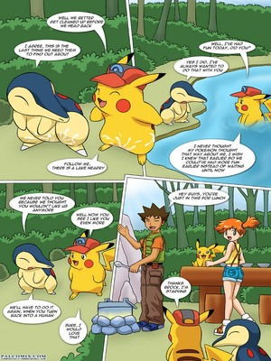 The New Adventures Of Ashchu 1 75 and Pokemon Comic Porn