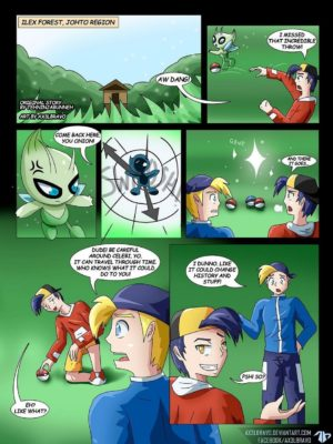 The Time Paradox 2 and Pokemon Comic Porn