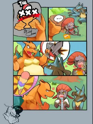 The XXX Tournament Pokemon Comic Porn