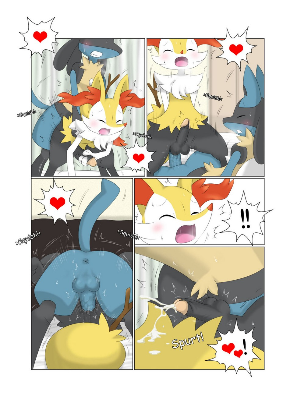 Urges And Curiosity Pokemon Comic Porn