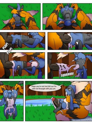 Wet An Arcanine, Drench A Riolu 4 and Pokemon Comic Porn