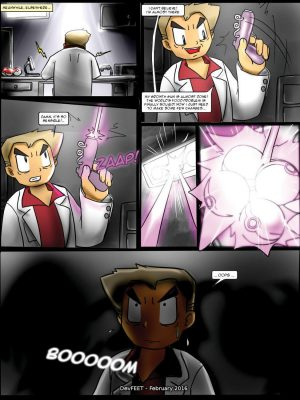 What If Giant Pokemons Invades The Town Pokemon Comic Porn
