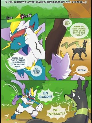 Zero The Huntress 2 1 and Pokemon Comic Porn