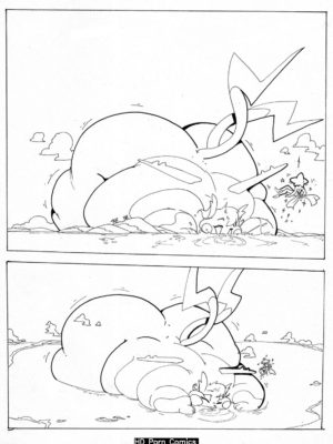 Amp It Up 007 and Pokemon Comic Porn