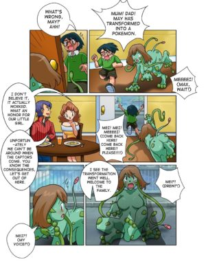 Mei's Transformation 005 and Pokemon Comic Porn