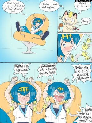 The Tickle Chair Pokemon Comic Porn