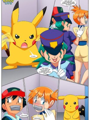To Catch A Trainer 004 and Pokemon Comic Porn