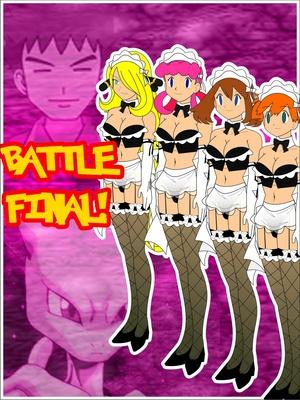 Battle Final! Pokemon Comic Porn