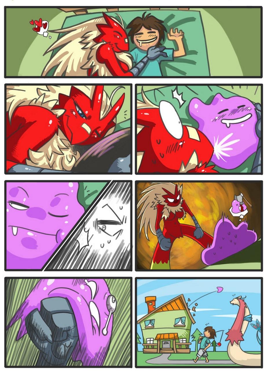 Blaziken And Trainer Pokemon Comic Porn