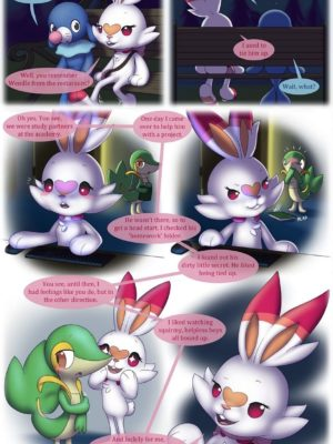 Buckles And Sin 1 - Shedding The Light 9 and Pokemon Comic Porn