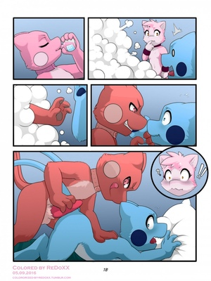 Change Of Rules 19 and Pokemon Comic Porn