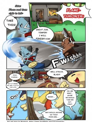 First Night 2 and Pokemon Comic Porn