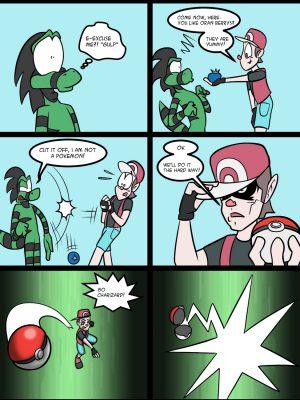 Gotta Catch Him Up! 3 and Pokemon Comic Porn