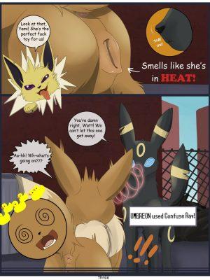 Heated Trouble! Pokemon Comic Porn