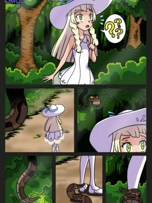 Kaa & Lillie Pokemon Comic Porn