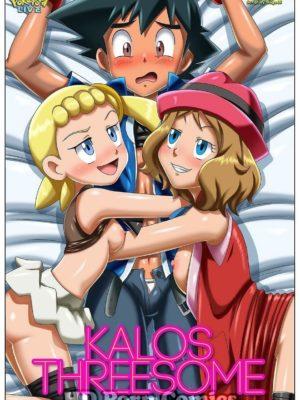 Kalos Threesome Pokemon Comic Porn