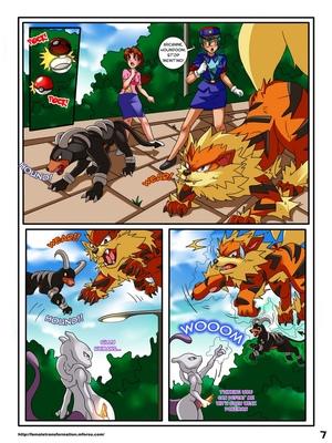 Pokemaidens 2 8 and Pokemon Comic Porn