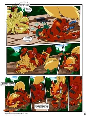 Pokemaidens 2 14 and Pokemon Comic Porn