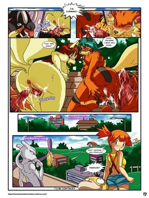 Pokemaidens 2 18 and Pokemon Comic Porn