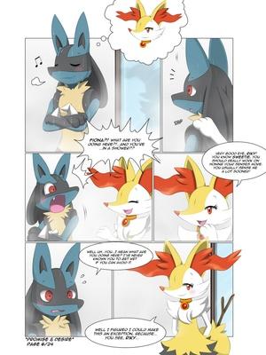 Promise & Desire Pokemon Comic Porn