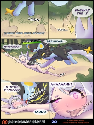 Silver Soul 21 and Pokemon Comic Porn