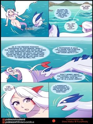 Silver Soul 3 8 and Pokemon Comic Porn