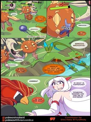 Silver Soul 3 39 and Pokemon Comic Porn