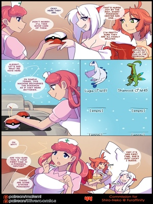 Silver Soul 3 46 and Pokemon Comic Porn