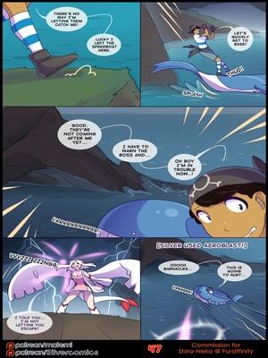 Silver Soul 3 49 and Pokemon Comic Porn