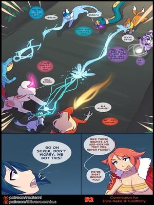 Silver Soul 3 54 and Pokemon Comic Porn