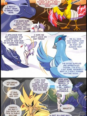 Silver Soul 6 93 and Pokemon Comic Porn
