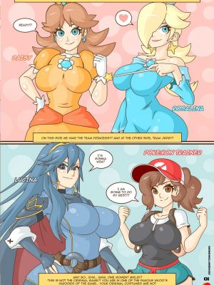 Smash Bros Xxxtreme Pokemon Comic Porn