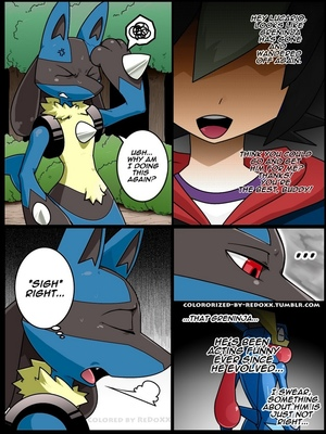 Tongue Tied (Color) 3 and Pokemon Comic Porn