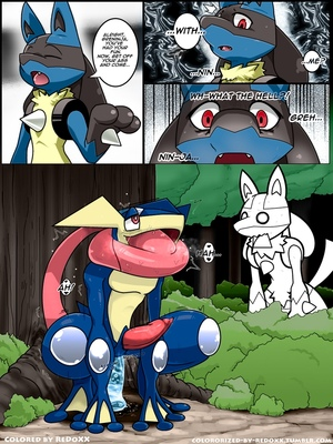 Tongue Tied (Color) 7 and Pokemon Comic Porn
