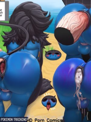 Anthroball – Luxray's Training Pokemon Comic Porn