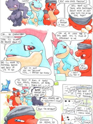 Charmeleon 002 and Pokemon Comic Porn