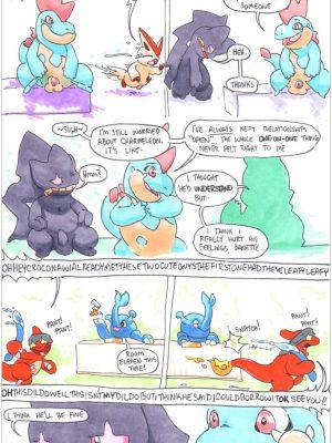 Charmeleon 009 and Pokemon Comic Porn