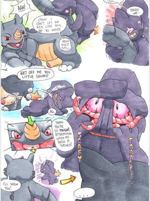 Charmeleon 014 and Pokemon Comic Porn