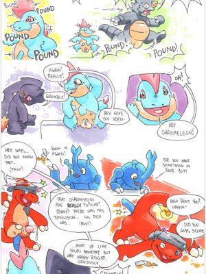 Charmeleon 015 and Pokemon Comic Porn