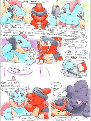 Charmeleon 018 and Pokemon Comic Porn