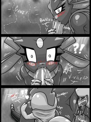 Evolution Anxiety 008 and Pokemon Comic Porn