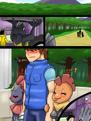 Evolution Anxiety 020 and Pokemon Comic Porn