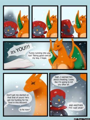 Freeze 065 and Pokemon Comic Porn