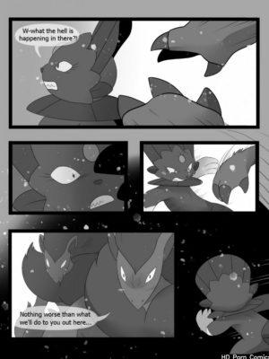 Freeze 104 and Pokemon Comic Porn