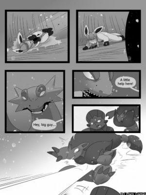 Freeze 105 and Pokemon Comic Porn