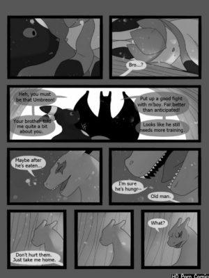 Freeze 113 and Pokemon Comic Porn