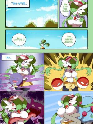 Gardevoir Trainer 004 and Pokemon Comic Porn