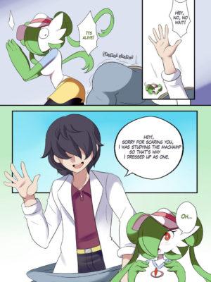 Gardevoir Trainer 008 and Pokemon Comic Porn