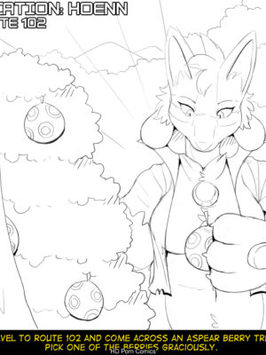 Hildegard's Quest For Aura - Mightyena 002 and Pokemon Comic Porn