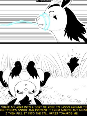 Hildegard's Quest For Aura - Mightyena 005 and Pokemon Comic Porn